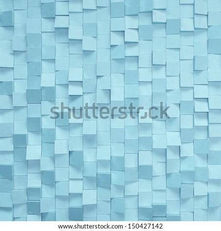 blue decorative wall