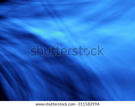 Blue deep abstract web pattern design - stock photo