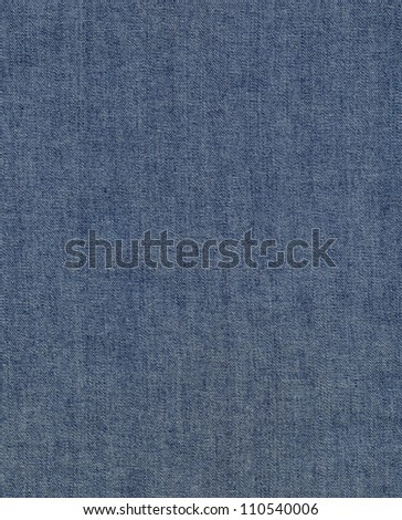 blue denim jeans texture, can be used as background - stock photo