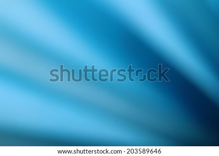 Blue diagonal stripes blurred background - stock photo