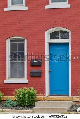 Blue Door, Red House