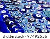 Blue Evil Eye Charms Sold ,  Turkey - stock photo