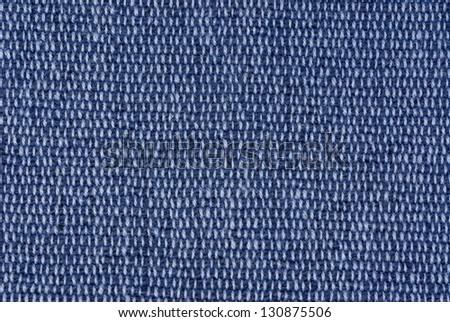 blue fabric background - stock photo