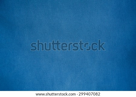 blue fabric background - stock photo