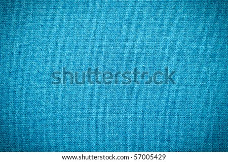 blue fabric texture - stock photo