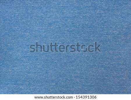 Blue fabric texture for background