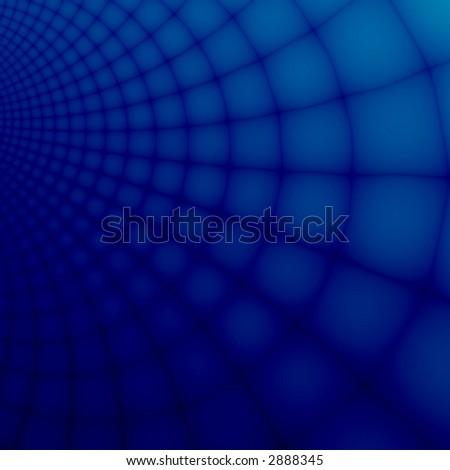 Blue fantasy infinity - stock photo