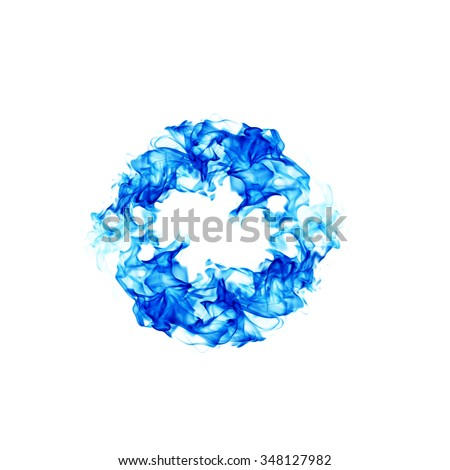 "Stock Images similar to ID 58816216 - blue smoke letter ""h"""