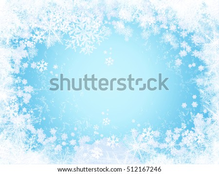 blue frozen window glass for your background. See my portfolio sets for more winter backgrounds