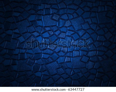 Blue Glass Pattern - stock photo
