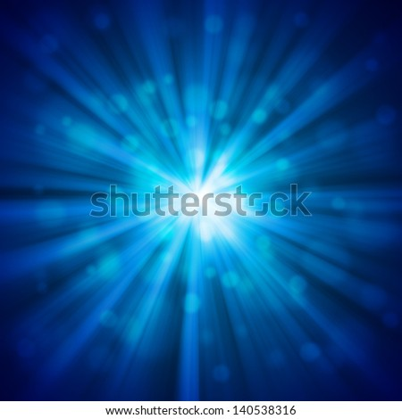 blue glow abstract light backgrounds - stock photo