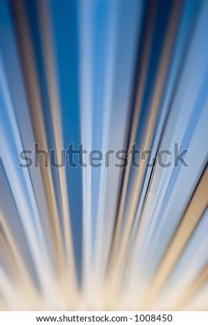 Blue & Gold - stock photo