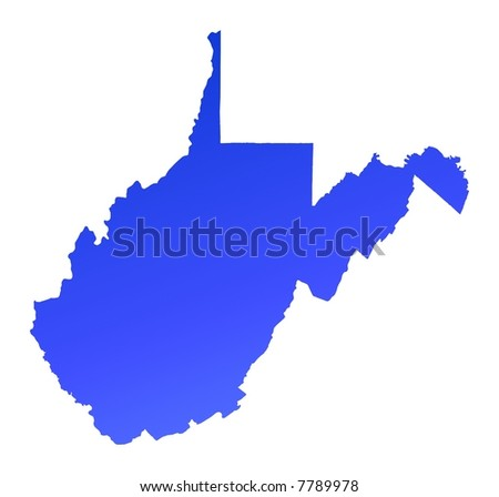 West Virginia Map Stock Images RoyaltyFree Images Vectors - West virginia map usa