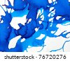 Blue & Green Watercolor Background 3 - stock photo
