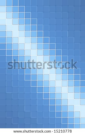 Blue grid pattern background