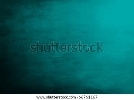 Blue grunge background - stock photo
