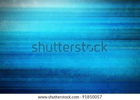 blue grunge stripy background - stock photo