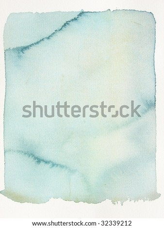 blue grunge watercolor background