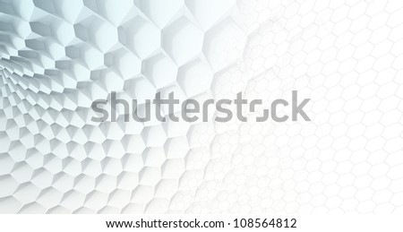 Blue Honeycomb