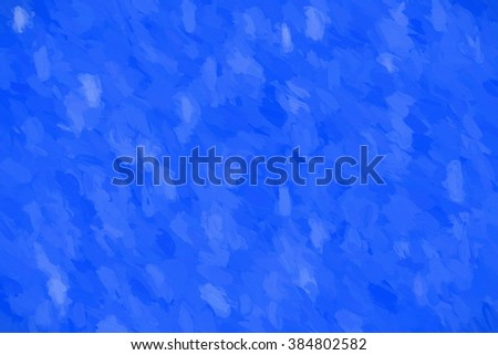 blue impasto surface  - illustration