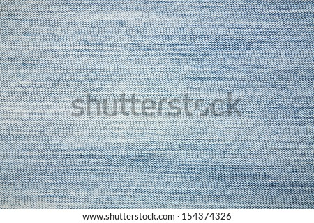 Blue jeans background texture. - stock photo