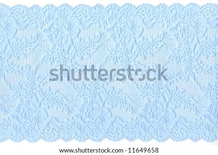blue lace - stock photo