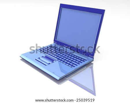 blue Laptop