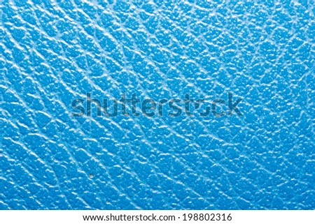 Blue leather texture.