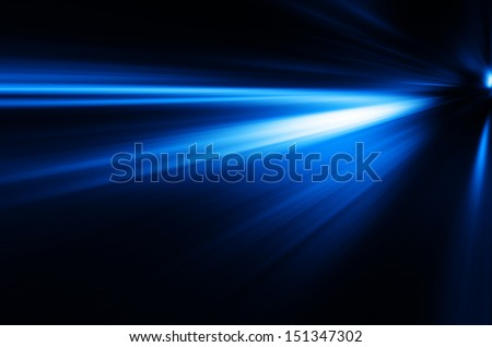 blue light background. - stock photo