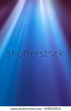 BLUE LIGHT BACKGROUND - stock photo