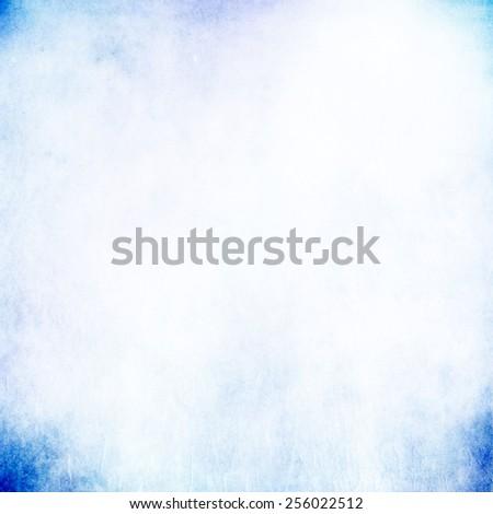 Blue light pastel background - stock photo