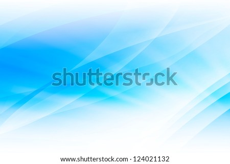 Blue Light Wave Abstract Background