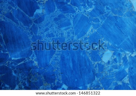 Blue Marble pattern useful as background or texture - stock photo