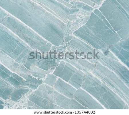 Blue marble texture background. - stock photo