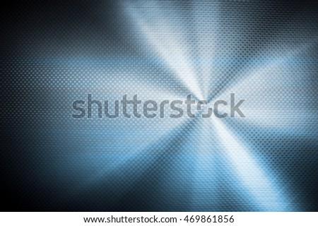 blue metal mesh with light background