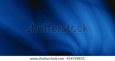Blue modern abstract silk wide screen luxury background