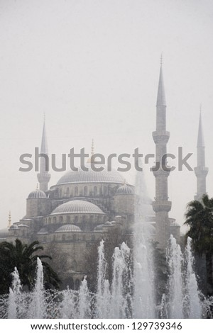 Blue Mosque, Istanbul - stock photo