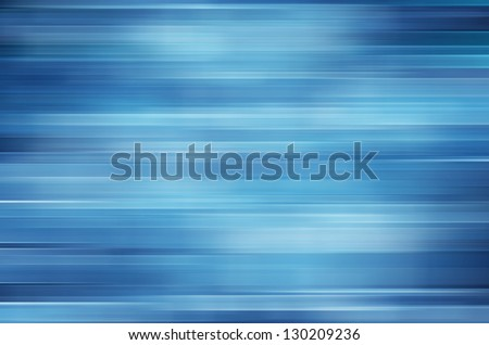 Blue motion blur abstract background - stock photo