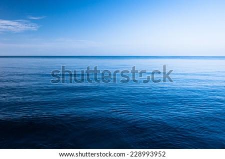 Blue Ocean - stock photo