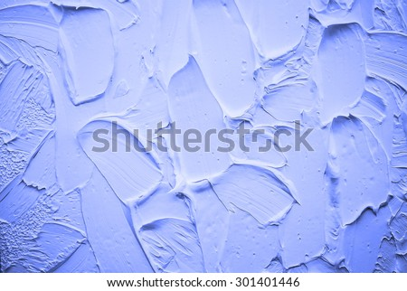 blue  oil abstract background painting - stock photo