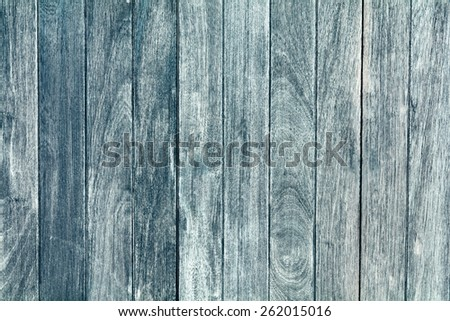 Blue Old wood texture - stock photo