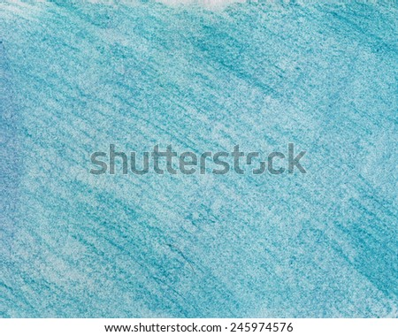 Blue painted canvas texture