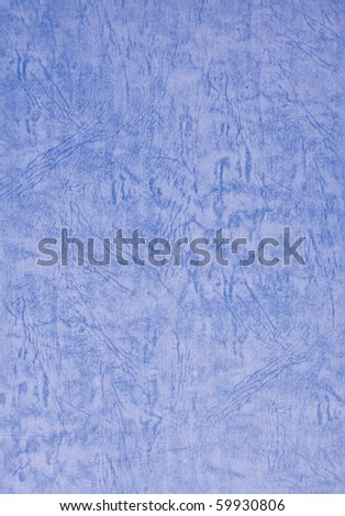 Blue paper texture isolated on white background - stock photo