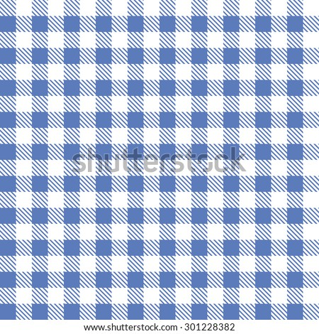 blue patterns tablecloths - stock photo