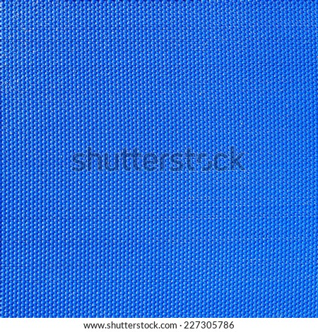 Blue plastic surface as background - stock photo