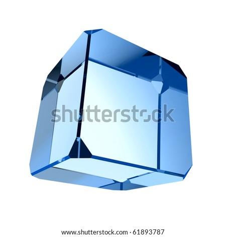 Blue prism - stock photo