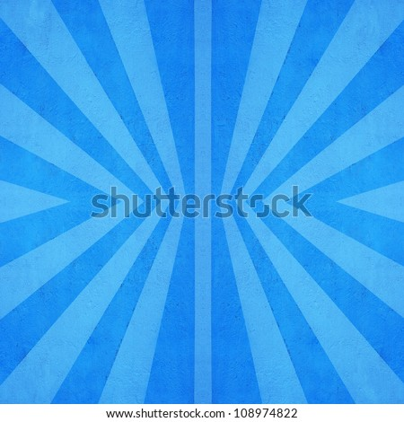 Blue retro background - stock photo
