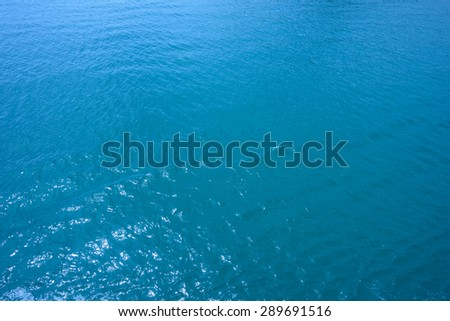 blue sea, water seascape abstract background - stock photo