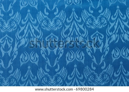 Blue seamless abstract pattern background