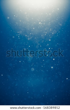 blue shiny background - stock photo